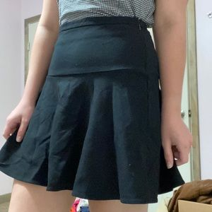 Simple Black Aline skirt